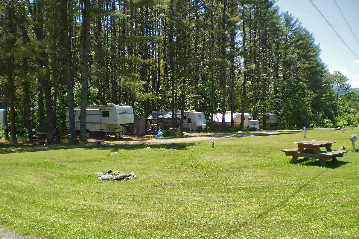 Half shaded RV site